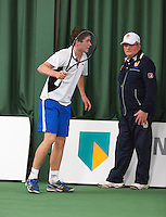 18-01-14,Netherlands, Rotterdam,  TC Victoria, Wildcard Tournament, ,  Ton Smit (NED)<br /> Photo: Henk Koster