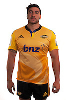 Jeffrey Toomaga-Allen. Hurricanes Super Rugby official headshots at Rugby League Park, Wellington, New Zealand on Tuesday, 13 January 2015. Photo: Dave Lintott / lintottphoto.co.nz