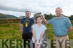 Dr Brendan O'Keeffe making a new home in South Kerry, pictured here at Cloghanelinaghan just outside Cahersiveen with his son Sean & niece Veeka Clarke.