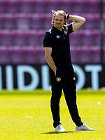 17th July 2021; Tynecastle Park, Edinburgh, Scotland;Pre Season Friendly Football, Heart of Midlothian versus Sunderland; Robbie Neilson, manager of Hearts ahead of kick off