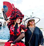 DEL MAR, CA - JULY 19: on opening day on July 19, 2017 at Del Mar Thoroughbred Club in Del Mar, California (Photo by Scott Serio/Eclipse Sportswire/Getty Images)