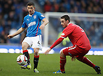 Fraser Aird and Jonathan Brown