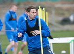 St Johnstone Training…07.04.17<br />Steven MacLean pictured during training this morning at McDiarmid Park ahead of tomorrow's trip to Inverness<br />Picture by Graeme Hart.<br />Copyright Perthshire Picture Agency<br />Tel: 01738 623350  Mobile: 07990 594431