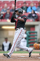 April 29, 2009: Yohermyn, Chavez (20) of the Lansing Lugnuts at Elfstrom Stadium in Geneva, IL.  Photo by: Chris Proctor/Four Seam Images