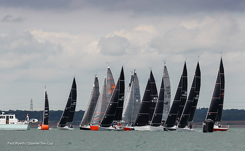 The Quarter Tonners had a hard three-day 12 race regatta