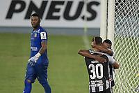 Rio de Janeiro (RJ), 25/04/2021 - BOTAFOGO-MACAÉ - David Sousa, do Botafogo, comemora gol. Partida entre Botafogo e Macaé, válida pela decima primeira rodada da Taça Guanabara, realizada no Estádio Nilton Santos (Engenhão), no Rio de Janeiro, neste domingo (25).