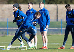 St Johnstone Training…17.01.20<br />David Wotherspoon pictured doing sprints in training this morning at McDiarmid Park ahead of tomorrow's Scottish Cup tie against Greenock Morton..<br />Picture by Graeme Hart.<br />Copyright Perthshire Picture Agency<br />Tel: 01738 623350  Mobile: 07990 594431