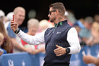 Boyzone band member Keith Duffy of Team Ireland takes a selfie for a fan during the Bulmers 2018 Celebrity Cup at the Celtic Manor Resort. Newport, Gwent,  Wales, on Saturday 30th June 2018<br /> <br /> <br /> Jeff Thomas Photography -  www.jaypics.photoshelter.com - <br /> e-mail swansea1001@hotmail.co.uk -<br /> Mob: 07837 386244 -