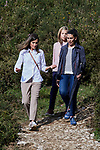 Queen Letizia of Spain and Princess Sofia of Spain visit the Enol lake in Asturias, Spain. September 08, 2018. (ALTERPHOTOS/A. Perez Meca)