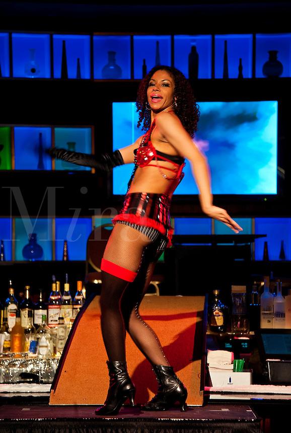 Burlesque dancer, Atlantic City, NJ, USa