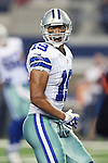Dallas Cowboys wide receiver Miles Austin (19) in action during the pre-season game between the Cincinnati Bengals and the Dallas Cowboys at the AT & T stadium in Arlington, Texas. Dallas leads Cincinnati 14 to 7 at halftime.