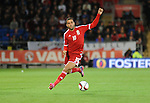 UEFA European Championship at Cardiff City Stadium - Wales v Cyprus : <br /> Hal Robson-Kanu controls the ball for Wales.
