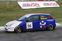 2001 British Touring Car Championship. #96 Rick Kraemer. GR Motorsport. Ford Focus.