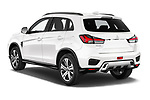 Car pictures of rear three quarter view of a 2020 Mitsubishi ASX Diamond Edition 5 Door SUV angular rear