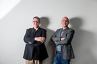 2016 08 09 Two brothers are musicians at the Wales Millennium Centre, Cardiff, UK