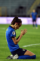 Barbara Bonansea of Italy reacts during the Women s EURO 2022 qualifying football match between Italy and Denmark at stadio Carlo Castellani in Empoli (Italy), October, 27th, 2020. Photo Andrea Staccioli / Insidefoto
