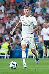 Real Madrid Toni Kroos  during Santiago Bernabeu Trophy match at Santiago Bernabeu Stadium in Madrid, Spain. August 11, 2018. (ALTERPHOTOS/Borja B.Hojas)
