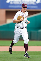 Patrick Drake (5) of the Missouri State Bears during a game vs. the Western Illinois Leathernecks at Hammons Field in Springfield, Missouri;  March 20, 2011.  Photo By David Welker/Four Seam Images