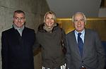 """GIAMPAOLO E ROSANNA LETTA CON PAOLO FERRARI<br /> VERNISSAGE """"ROMA 2006 10 ARTISTI DELLA GALLERIA FOTOGRAFIA ITALIANA"""" AUDITORIUM DELLA CONCILIAZIONE ROMA 2006"""