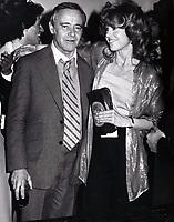 "Jack Lemmon, Jane Fonda 1979<br /> OPENING OF ''The China Syndrome""<br /> FILE PHOTO<br /> Photo to By John Barrett-PHOTOlink"