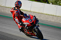 25th Septmeber 2020, Circuit de Barcelona, Catalunya, Spain; MotoGp of Catalunya, Free practise sessions;  09 Danilo Petrucci ITA