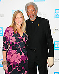 Morgan Freeman & business partner at The 4th annual USA TODAY Hollywood Hero Award Gala honoring Ashley Judd held at The Montage Beverly Hills in Beverly Hills, California on November 10,2009                                                                   Copyright 2009 DVS / RockinExposures