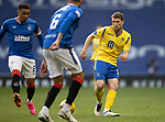 Rangers v St Johnstone…25.04.21   Ibrox.  Scottish Cup<br />David Wotherspoon and James Tavernier<br />Picture by Graeme Hart.<br />Copyright Perthshire Picture Agency<br />Tel: 01738 623350  Mobile: 07990 594431