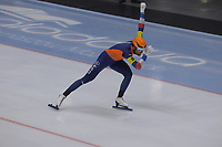 SPEEDSKATING: 22-11-2019 Tomaszów Mazowiecki (POL), ISU World Cup Arena Lodowa, Team Sprint Men (NED), Thomas Krol, ©photo Martin de Jong