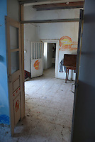 """Pictured: Interior view of the house where Ben Needham disappeared from in Kos, Greece. Wednesday 28 September 2016<br /> Re: Police teams searching for missing toddler Ben Needham on the Greek island of Kos have said they are """"optimistic"""" about new excavation work.<br /> Ben, from Sheffield, was 21 months old when he disappeared on 24 July 1991 during a family holiday.<br /> Digging has begun at a new site after a fresh line of inquiry suggested he could have been crushed by a digger.<br /> South Yorkshire Police (SYP) said it continued to keep an """"open mind"""" about what happened to Ben."""