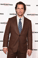"""Matthew McConaughey<br /> arriving for the """"White Boy Rick"""" screening at the Picturehouse Central, London<br /> <br /> ©Ash Knotek  D3462  27/11/2018"""