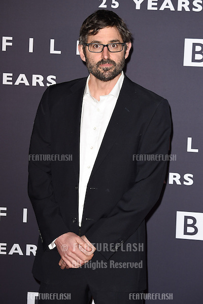 Louis Theroux arrives for the BBC Films' 25th Anniversary Reception at Radio Theatre, New Broadcasting House, London. 27/03/2015 Picture by: Steve Vas / Featureflash