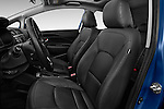 Front seat view of 2015 KIA Rio AT SX 5 Door Hatchback 2WD Front Seat car photos