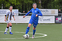 Lorene Martin (6) of KRC Genk pictured during a female soccer game between Sporting Charleroi and Eendracht Aalst on the 8th matchday in play off 2 of the 2020 - 2021 season of Belgian Scooore Womens Super League , tuesday 18 th of May 2021 in Marcinelle , Belgium . PHOTO SPORTPIX.BE | SPP | STIJN AUDOOREN