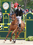 01 May 2011. Manoir De Carneville and Sinead Halpin finish third in the Rolex Three Day Event.