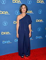 LOS ANGELES, USA. January 25, 2020: Amy Schatz at the 72nd Annual Directors Guild Awards at the Ritz-Carlton Hotel.<br /> Picture: Paul Smith/Featureflash