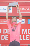 Magnus Cort Nielsen (DEN) EF Education-Nippo from the breakaway wins Stage 6 of La Vuelta d'Espana 2021, running 158.3km from Requena to Alto de la Montaña Cullera, Spain. 19th August 2021.    <br /> Picture: Luis Angel Gomez/Photogomezsport   Cyclefile<br /> <br /> All photos usage must carry mandatory copyright credit (© Cyclefile   Luis Angel Gomez/Photogomezsport)