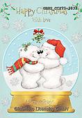 John, CHRISTMAS ANIMALS, WEIHNACHTEN TIERE, NAVIDAD ANIMALES, paintings+++++,GBHSCCX75-1837,#xa#