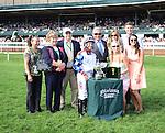 Dramedy and jockey Joe Bravo win the Dixiana Elkhorn for owner John James and trainer Gerry Aschinger