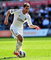 sport...swansea v southampton...liberty stadium...saturday 20th april 2013....<br /> <br /> <br /> Swansea's Angel Rangel.
