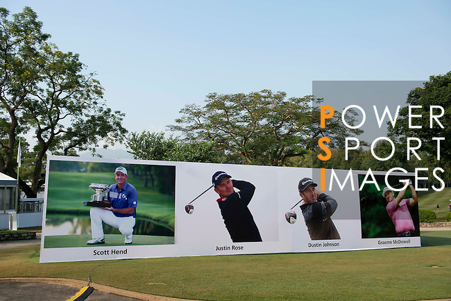 UBS Hong Kong Open golf tournament at the Fanling golf course on 24 October 2015 in Hong Kong, China. Photo by Aitor Alcalde / Power Sport Images