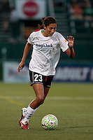 Christen Press of the magicJack during second half action. The Western New York Flash defeated the magicJack 3-0 in Women's Professional Soccer (WPS) at Sahlen's Stadium in Rochester, NY May 22, 2011.