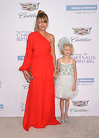BRENTWOOD, CA - JUNE 11: Actress Rebecca Gayheart-Dane and daughter Billie Beatrice Dane arrive at the 15th Annual Chrysalis Butterfly Ball at a private residence on June 11, 2016 in Brentwood, California.