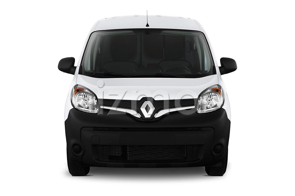Car photography straight front view of a 2019 Renault Kangoo Energy Extra 4 Door Car van
