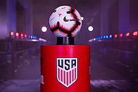 Tampa, FL - Thursday, October 11, 2018:  Nike match ball during a USMNT match against Colombia.  Colombia defeated the USMNT 4-2.
