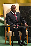 DSG meeting<br /> <br /> AM Plenary General DebateHis<br /> <br /> <br /> His Excellency Matamela Cyril Ramaphosa, President, Republic of South Africa