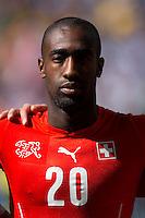 Johan Djourou of Switzerland