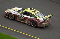 The #31 Porsche..39th Rolex 24 at Daytona, 3/4 February,2001 Daytona International Speedway  Daytona Beach,Florida,USA.©F.Peirce Williams 2001 ..