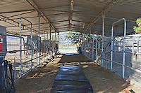 Open pipe barn