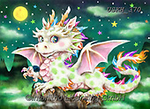Kayomi, CUTE ANIMALS, LUSTIGE TIERE, ANIMALITOS DIVERTIDOS, paintings+++++,USKH370,#ac#, EVERYDAY ,puzzle,puzzles, dragon