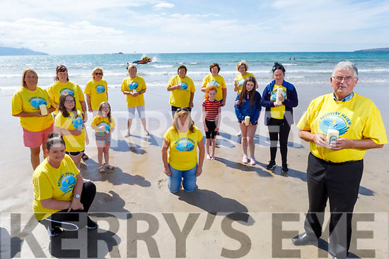 Recovery Haven holding their Virtual Celebration of Light in Banna Beach on Saturday.<br /> Front right: Dermot Crowley.<br /> Kneeling: Marissa Reidy and Kathleen Collins.<br /> Back l to r: Sarah and Susan Lacey, Helen Geary and Katie Lacey, Helen Geary, Hanna O'Connell, Sophie Leen, Jacinta Bradley, Breda Carmody, Tina Cunningham, Joan Crowley and Maureen O'Brien
